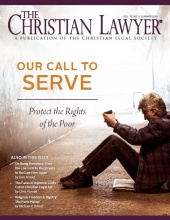 The Christian Lawyer - Spring 2016 issue